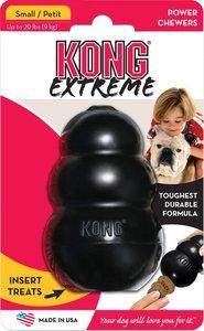 KONG Extreme rubber, zwart.