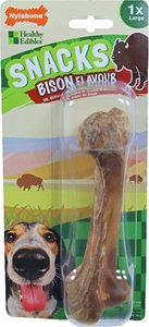 Nylabone Healthy Edibles Snacks 1x bison, large. (5)