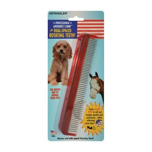 Professional dual-spaced pet comb groomer preferred